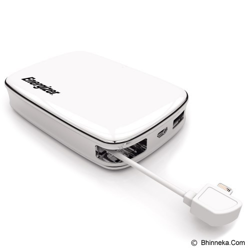 ENERGIZER Powerbank 6000mAh [XP6000A-WH] - Portable Charger / Power Bank